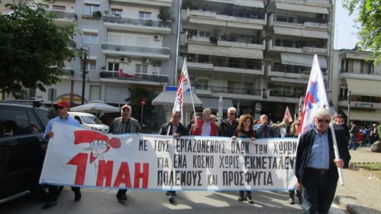 Κάλεσμα στην απεργιακή συγκέντρωση του Π.Α.ΜΕ. στην Πλατεία Ωρολογίου Βέροιας από την Ομάδα Γυναικών Βεροίας της Ο.Γ.Ε