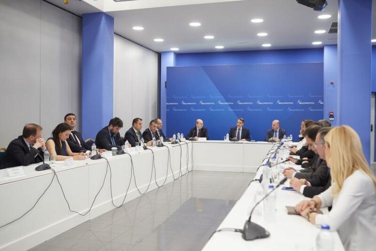 Ομιλία του Προέδρου της Νέας Δημοκρατίας κ. Κυριάκου Μητσοτάκη στους Τομεάρχες