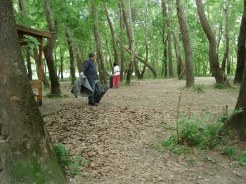 Καθαρισμός της παραποτάμιας περιοχής του Αλιάκμονα από τη Δ/νση Περιβάλλοντος-Καθαριότητας-Πολ. Προστασίας Δ.Βέροιας