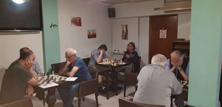Με επιτυχία το τουρνουά σκάκι μεταξύ Σκακιστικής λέσχης Βέροιας και Σκακιστικού ομίλου Βέροιας