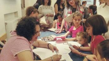 Η Κυρία Τσαγερό στην Εύξεινο Λέσχη Ποντίων Νάουσας