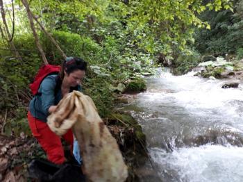 Εθελοντική δράση καθαρισμού του ποταμού Τριπόταμου