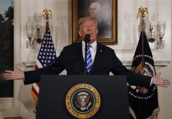 Παγκόσμια ανησυχία μετά την αποχώρηση των ΗΠΑ από τη συμφωνία για το πυρηνικό πρόγραμμα του Ιράν