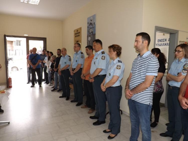 Τέλεση Αγιασμού στη Διεύθυνση Αστυνομίας Ημαθίας