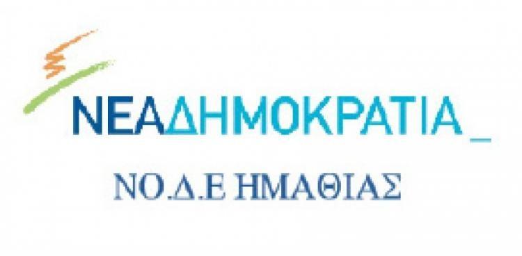 Ανακοίνωση της ΝΟ.Δ.Ε. Ημαθίας για τους εκλεγμένους προέδρους και μέλη ΝΟ.ΔΕ, ΔΗΜ-ΤΟ
