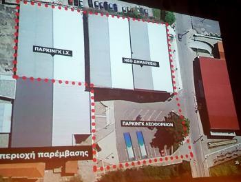 Νέο «πράσινο» δημαρχείο «ανοικτού τύπου» στη Νάουσα, με χώρους πολιτισμού, υπόγειο παρκινγκ και χώρο στάθμευσης λεωφορείων!