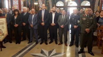 Ο αντιπεριφερειάρχης Ημαθίας Κ.Καλαϊτζίδης στις εκδηλώσεις για την ημέρα μνήμης της Ποντιακής Γενοκτονίας, στην Επισκοπή Νάουσας