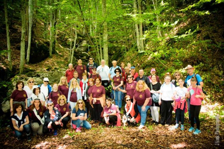 Εξόρμηση της Ευξείνου Λέσχης Ποντίων Νάουσας στο δάσος «Κανέλλη»