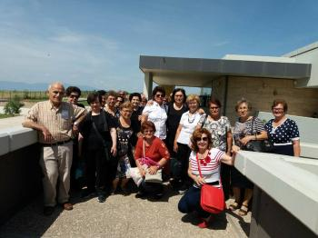 Επίσκεψη του ΚΑΠΗ Δήμου Βέροιας στην Αρχαία Πέλλα με αφορμή την παγκόσμια ημέρα μουσείων