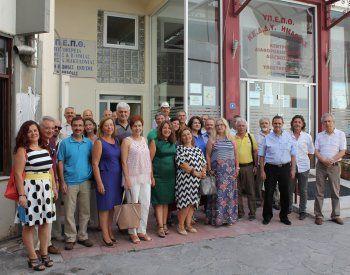 Τους νέους Διευθυντές/Διευθύντριες των σχολικών μονάδων της Ημαθίας υποδέχτηκε η Αν. Μαυρίδου