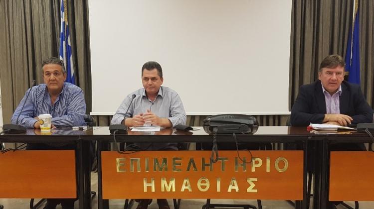 Φορείς και ιδιώτες στη σύσκεψη του Επιμελητηρίου Ημαθίας : «Να σταματήσει το παρεμπόριο στη διακίνηση νωπών αγροτικών προϊόντων»