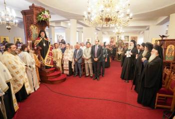 Πολυαρχιερατικός Εσπερινός επί τη εορτή της μετακομιδής των ιερών λειψάνων του Αγίου Λουκά στην Ι.Μ. Παναγίας Δοβρά