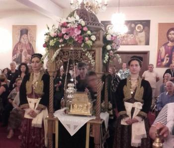 Το Λύκειο των Ελληνίδων στην Ιερά Μονή Παναγίας Δοβρά