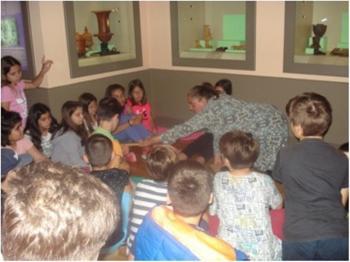 Ειδικό δημοτικό σχολείο Βέροιας και 8ο  Δ.Σ. Βέροιας : Συνεκπαιδευτική δράση στο αρχαιολογικό μουσείο