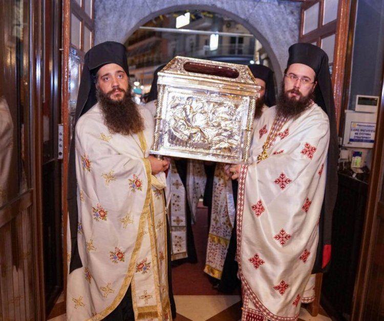 Η Βέροια τίμησε τον Πολιούχο της Άγιο Αντώνιο και τον Τίμιο Σταυρό