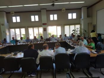 Κυριάρχησαν οι αντεγκλήσεις για ύδρευση και αποχέτευση στο Δημοτικό συμβούλιο Νάουσας