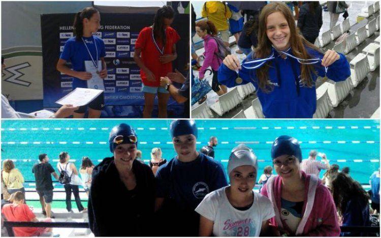 Ιδανικό φινάλε για την προαγωνιστική ομάδα κολύμβησης του Νηρέα Βέροιας