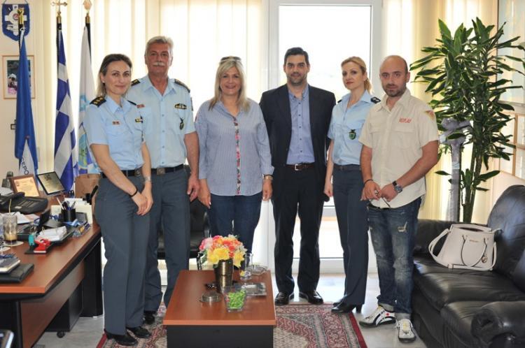 Επίσκεψη της Ε.Α.Υ.Ν.Η. στη Σχολή Μετεκπαίδευσης Βορείου Ελλάδος
