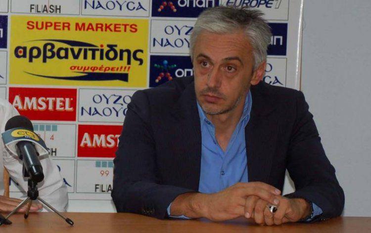 Νέος προπονητής της Βέροιας ο Απ. Χαραλαμπίδης με βοηθό το Γ. Ματζιαρίδη