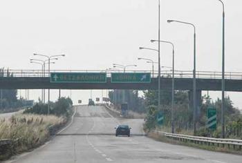 Προσωρινές κυκλοφοριακές ρυθμίσεις στην Εγνατία Οδό λόγω εργασιών
