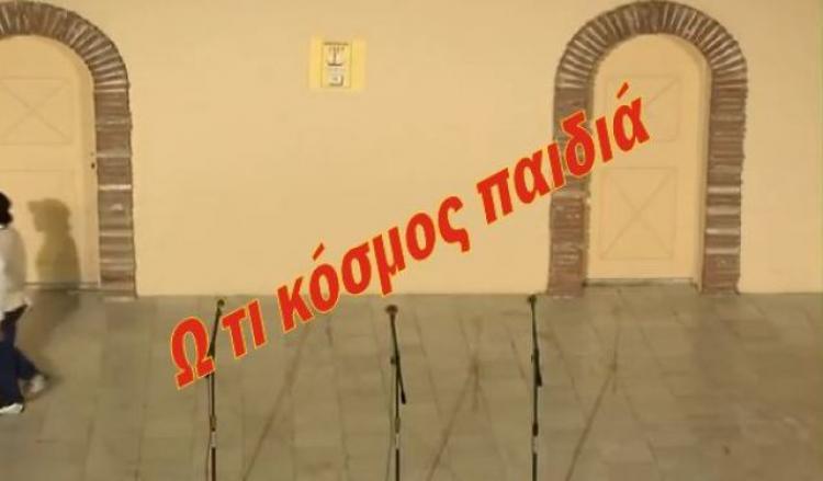 Θεατρική επιθεώρηση στο Δημοτικό αμφιθέατρο Πλατέος από το Δημοτικό Σχολείο Κορυφής