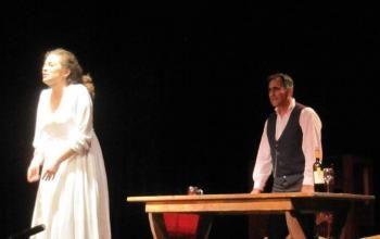 Τo εξαιρετικό δράμα «Δεσποινίς Τζούλια» παρουσίασε ο Όμιλος Φίλων Θεάτρου και Τεχνών Βέροιας