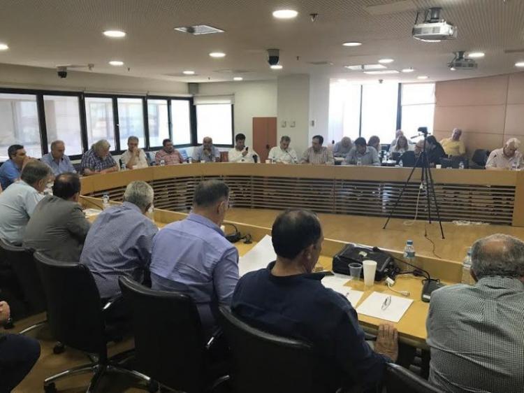 Συζήτηση για το νομοσχέδιο που αφορά στη μεταρρύθμιση στη λειτουργία της Αυτοδιοίκησης στη συνεδρίαση της ΠΕΔ-ΚΜ