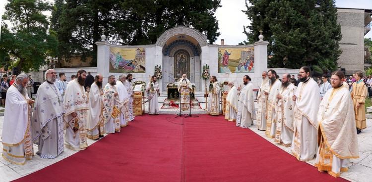 Τελέσθηκε η καθιερωμένη Θεία Λειτουργία στο Βήμα του Αποστόλου Παύλου στη Βέροια