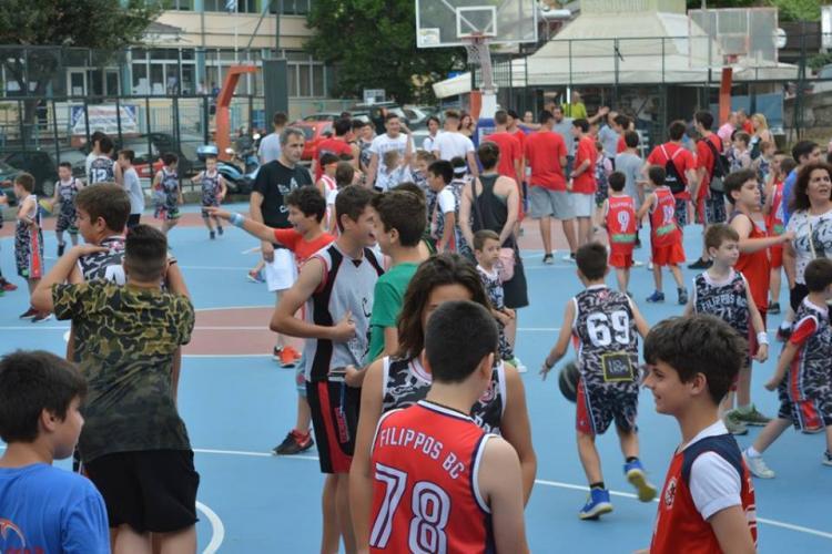 Πραγματοποιήθηκε η τελετή λήξης των ακαδημιών του αθλητικού κολεγίου μπάσκετ του ΑΠΣ Φίλιππος Βέροιας