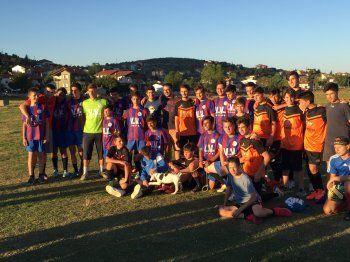 Ένας ξεχωριστός ποδοσφαιρικός αγώνας στο Ξηρολίβαδο
