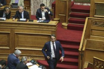 Πρόταση μομφής κατά της κυβέρνησης αμέσως μετά το πέρας της ψηφοφορίας για το πολυνομοσχέδιο καταθέτει Νέα Δημοκρατία
