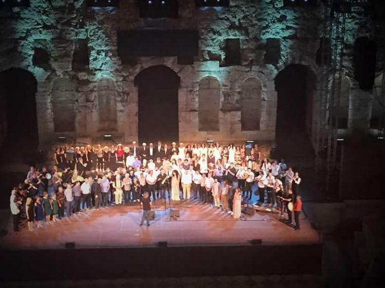 Οι Βλάχοι της Βέροιας στο Ηρώδειο στο πλαίσιο του Φεστιβάλ Αθηνών-Επιδαύρου