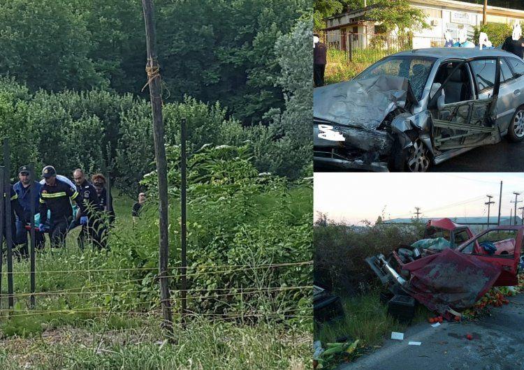 Τρία δυστυχήματα με νεκρούς στη Νάουσα σε ένα διήμερο!