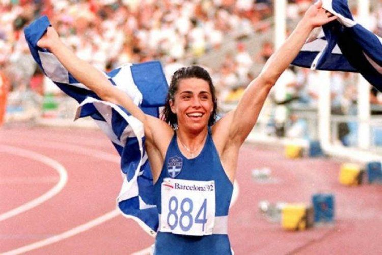 25 χρόνια μετά το «Για την Ελλάδα ρε...γ@μωτο» της Βούλας Πατουλίδου στη Βαρκελώνη!
