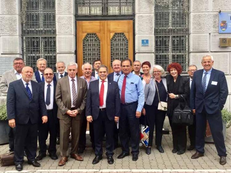 Καίρια υγειονομικά ζητήματα στη Σύνοδο της CEOM στην Τιμισοάρα Ρουμανίας, τις θέσεις του Π.Ι.Σ. παρουσίασε ο Α.Βασιάδης