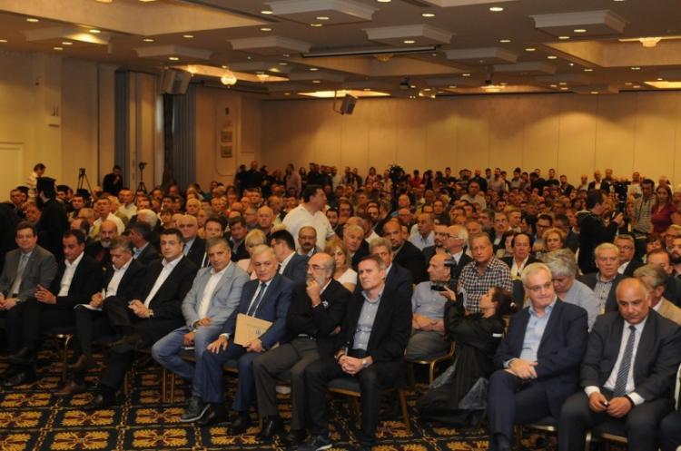 Ομιλία του προέδρου της ΠΕΔΚΜ Λ.Κυρίζογλου για το θέμα των Σκοπίων και το ψήφισμα που εκδόθηκε