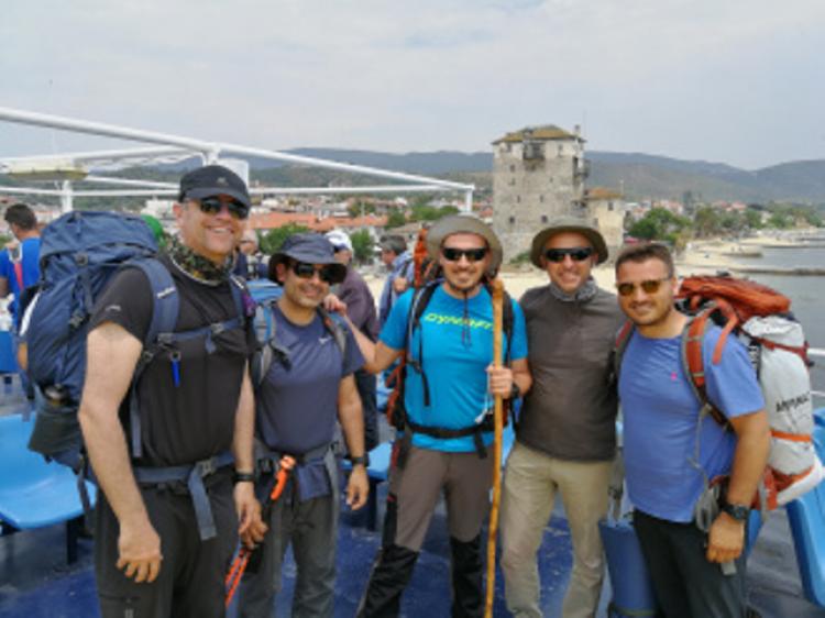 4ήμερη εξόρμηση των μελών του Συλλόγου Χιονοδρόμων Ορειβατών Βεροίας στο Άγιο Όρος