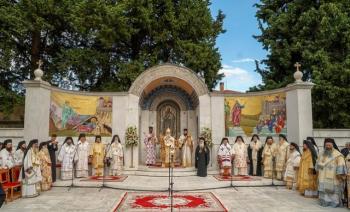 Ολοκληρώθηκαν τα ΚΔ´ Παύλεια με Πατριαρχικό Διορθόδοξο Εσπερινό στο Βήμα του Αποστόλου Παύλου στη Βέροια