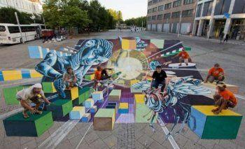 «1o Naoussa Street Art Festival», 28 Αυγούστου -10 Σεπτεμβρίου