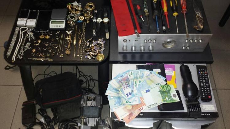 Εξαρθρώθηκε από το Τμήμα Ασφάλειας Βέροιας συμμορία που έκανε κλοπές στη Ημαθία, 3 συλλήψεις
