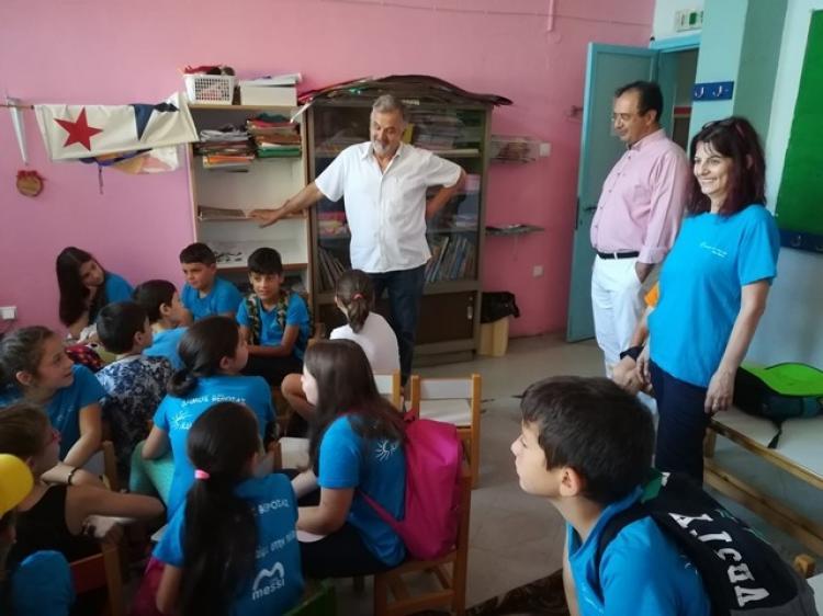 Ο Δήμαρχος Βέροιας ξεναγήθηκε στους χώρους του προγράμματος «Καλοκαίρι στην Πόλη μου»