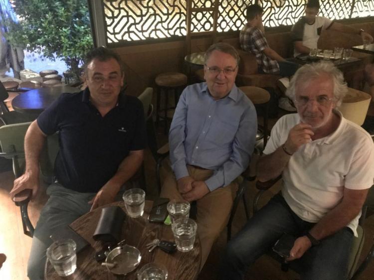 Με τον πρώην υπουργό Αγροτικής Ανάπτυξης και Τροφίμων συναντήθηκαν μέλη της διοίκησης του Α.Σ.Γ. Βέροιας