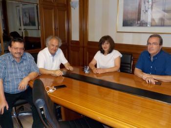 Διαδοχικές επισκέψεις της βουλευτή Φρόσως Καρασαρλίδου σε ΕΚΕ, ALEXANDER, VENUS, ΑΛΜΜΕ