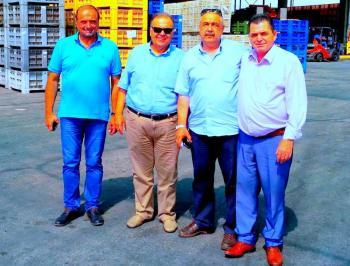 Στις μεταποιητικές, συνεταιριστικές και ιδιωτικές, επιχειρήσεις της Ημαθίας ο Κ.Καλαϊτζίδης και ο Ν. Τσορτσόλης
