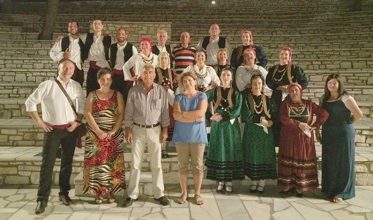 Επέστρεψε από Πάρο και Νάξο το χορευτικό συγκρότημα του Συλλόγου Μικρασιατών Ημαθίας