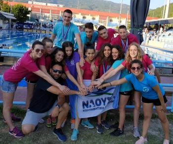 Εντυπωσιακό φινάλε της Κολυμβητικής Ακαδημίας «ΝΑΟΥΣΑ» στο Πανελλήνιο Πρωτάθλημα Παμπαίδων/Παγκορασίδων Α-Β