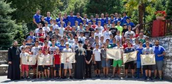 Ολοκληρώθηκε η τρίτη περίοδος φιλοξενίας παιδιών στις εγκαταστάσεις της Ιεράς Μονής Παναγίας Δοβρά