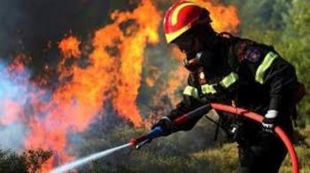 Ενίσχυση των πυροσβεστικών δυνάμεων στην Αττική από την Ημαθία