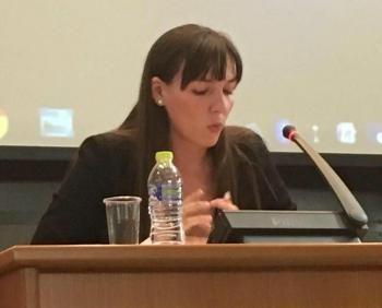 Ιωάννα Πέρβου : Αιμοδοσία στο Νοσοκομείο Νάουσας για τους πληγέντες της Αττικής