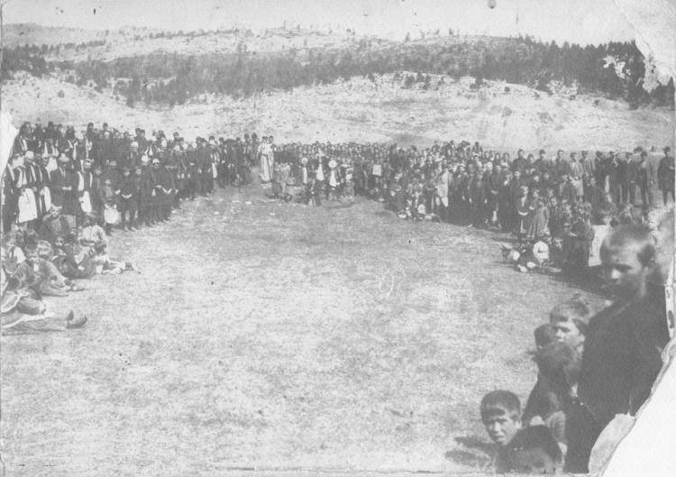 Η παράδοση του αγιασμού της ΜΠΟΥΝΑΣ στο Ξηρολίβαδο - Του Τάσου Βασιάδη